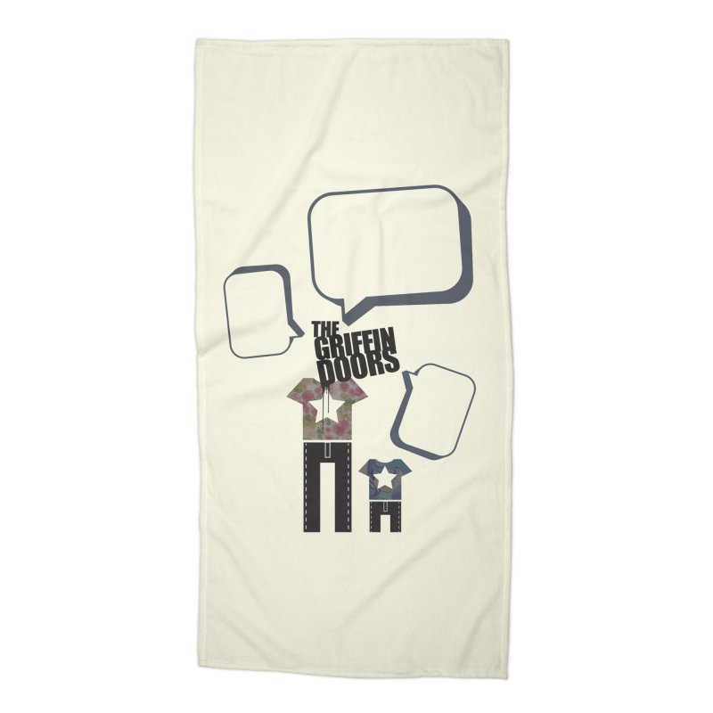 "THE GRIFFINDOORS ""Talk"" Accessories Beach Towel by Turkeylegsray's Artist Shop"
