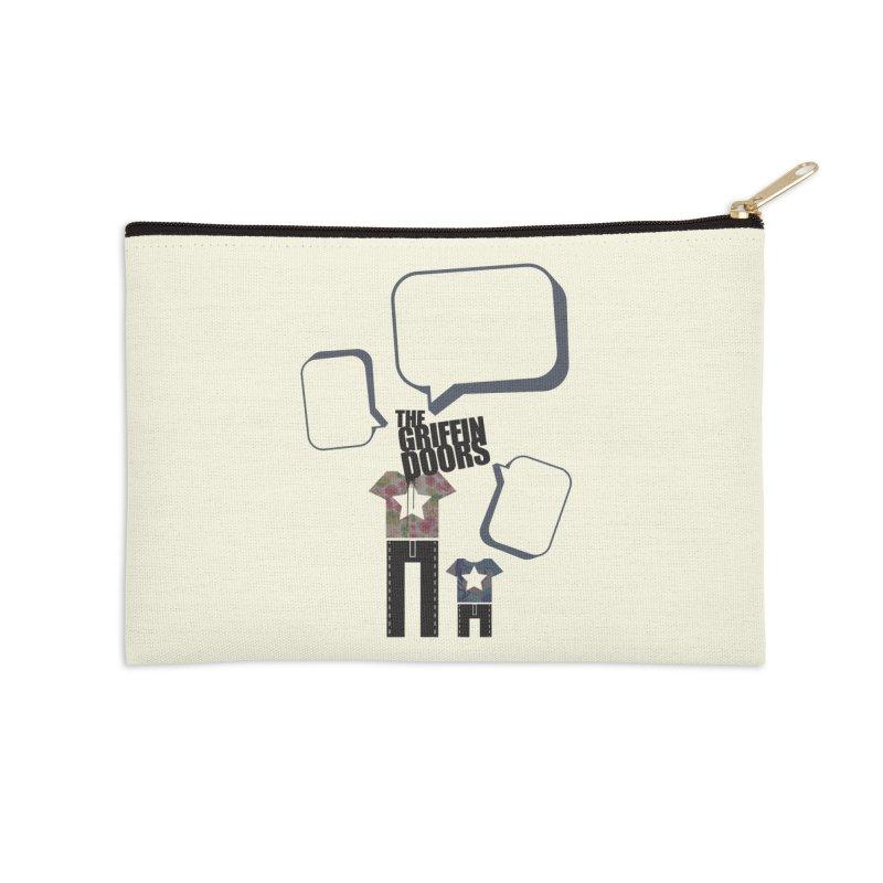 """THE GRIFFINDOORS """"Talk"""" Accessories Zip Pouch by Turkeylegsray's Artist Shop"""