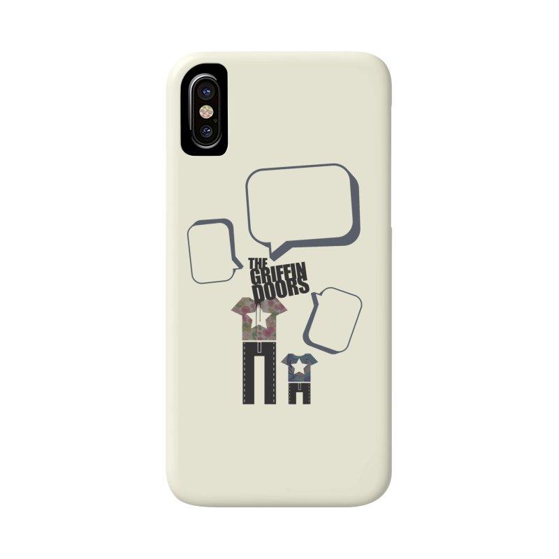 """THE GRIFFINDOORS """"Talk"""" Accessories Phone Case by Turkeylegsray's Artist Shop"""