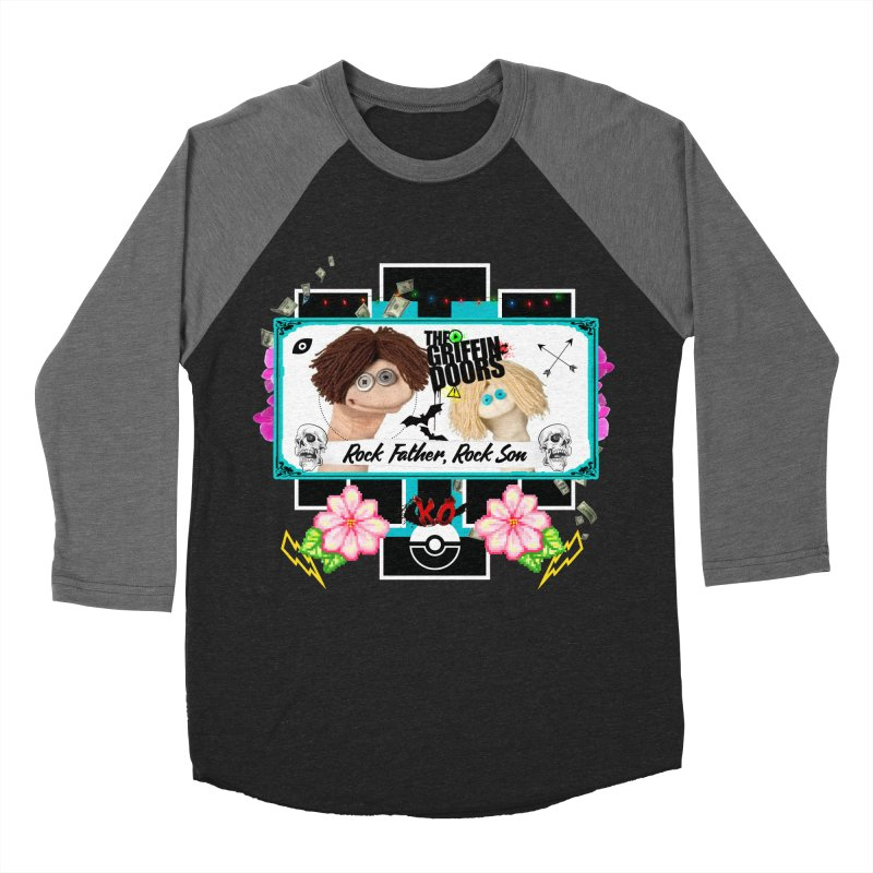 """THE GRIFFINDOORS """"Puppets"""" Women's Baseball Triblend T-Shirt by Turkeylegsray's Artist Shop"""