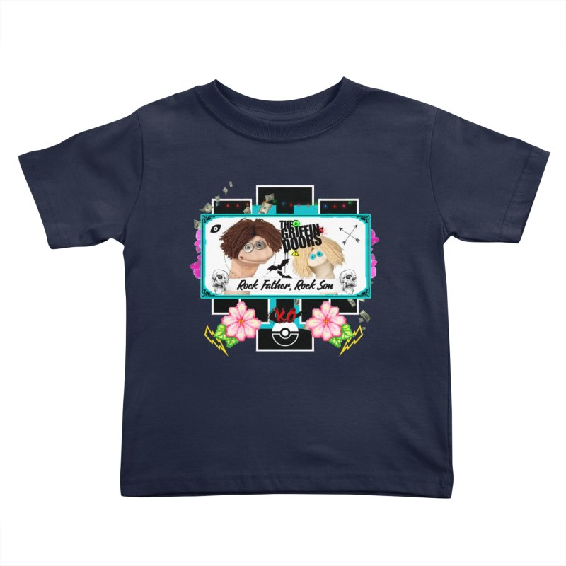"""THE GRIFFINDOORS """"Puppets"""" Kids Toddler T-Shirt by Turkeylegsray's Artist Shop"""