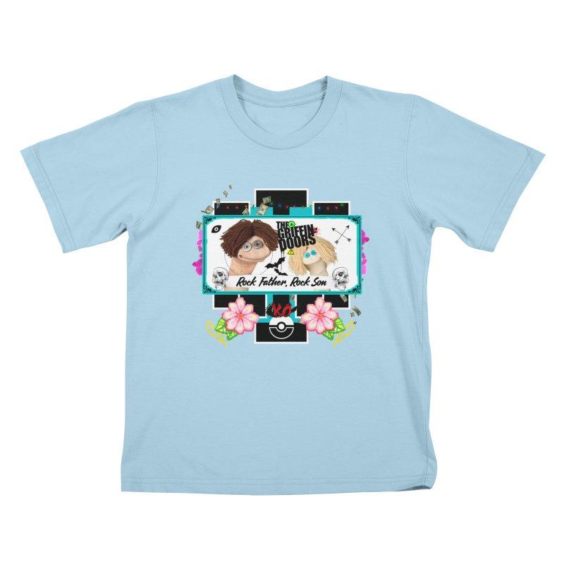 "THE GRIFFINDOORS ""Puppets"" Kids T-shirt by Turkeylegsray's Artist Shop"