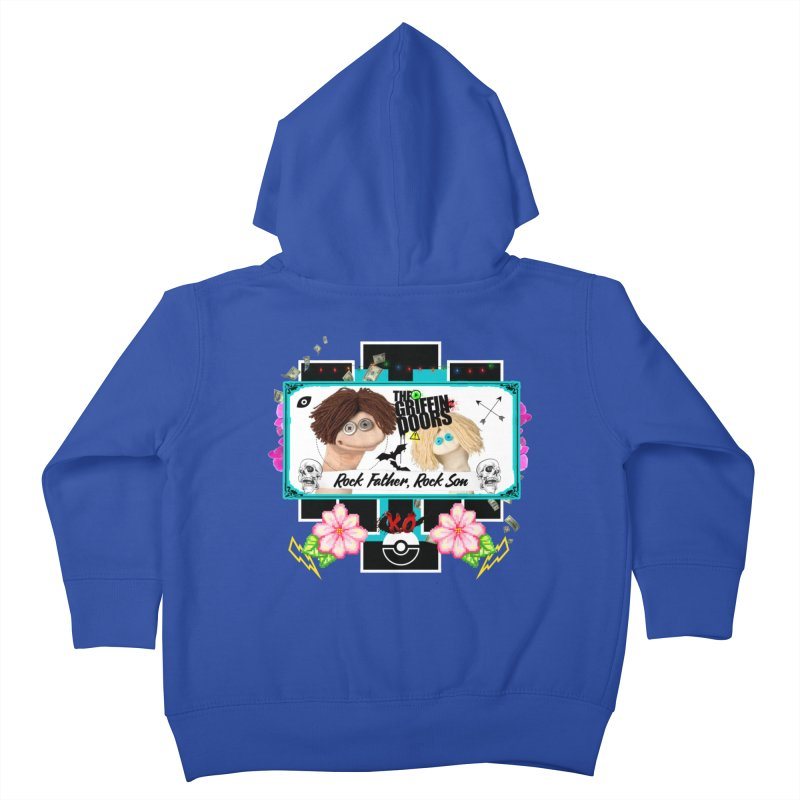 """THE GRIFFINDOORS """"Puppets"""" Kids Toddler Zip-Up Hoody by Turkeylegsray's Artist Shop"""