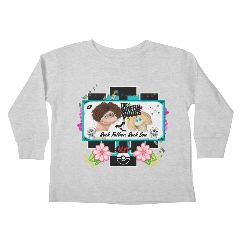 """THE GRIFFINDOORS """"Puppets"""" Kids Toddler Longsleeve T-Shirt by Turkeylegsray's Artist Shop"""