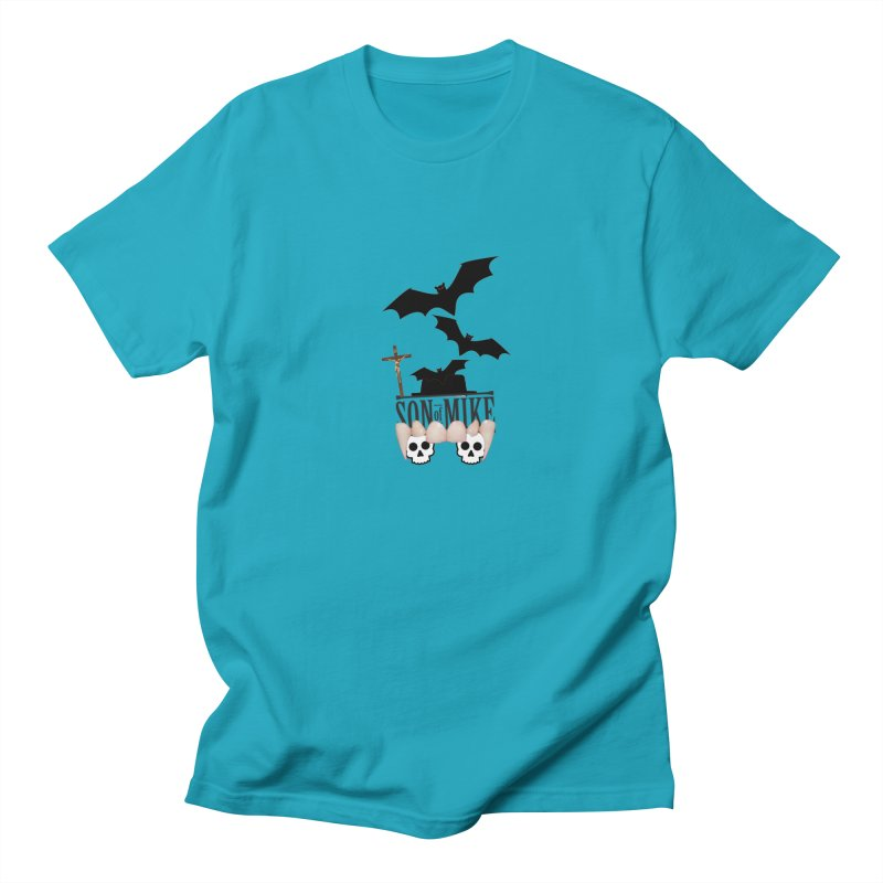 "SON OF MIKE ""Bats & Skulls"" Women's Unisex T-Shirt by Turkeylegsray's Artist Shop"