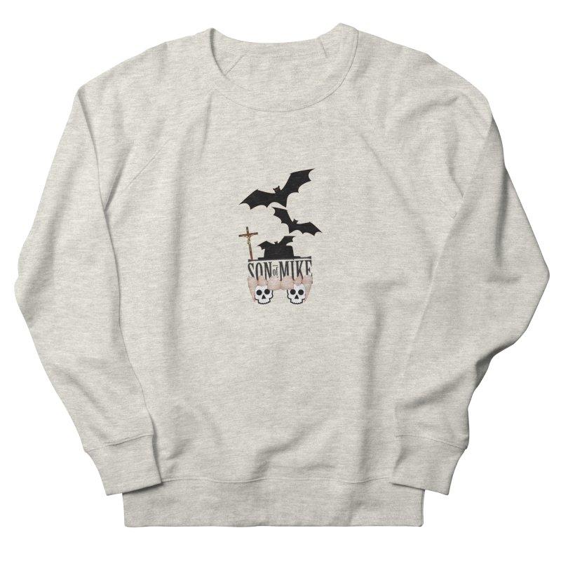 """SON OF MIKE """"Bats & Skulls"""" Women's Sweatshirt by Turkeylegsray's Artist Shop"""