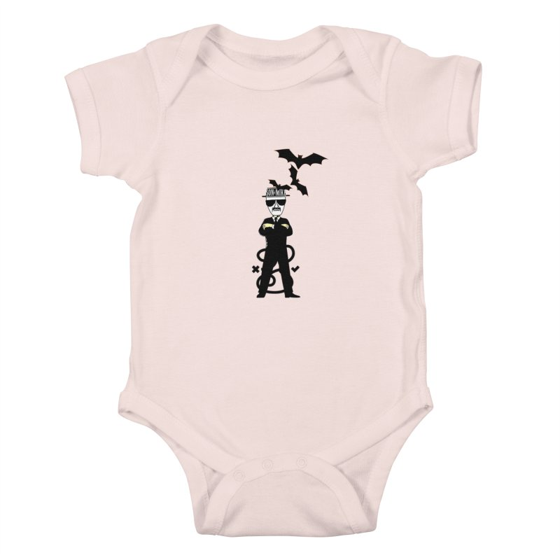 "SON OF MIKE ""Tread Lightly"" Kids Baby Bodysuit by Turkeylegsray's Artist Shop"