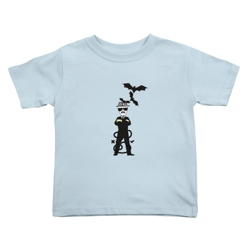 """SON OF MIKE """"Tread Lightly"""" Kids Toddler T-Shirt by Turkeylegsray's Artist Shop"""