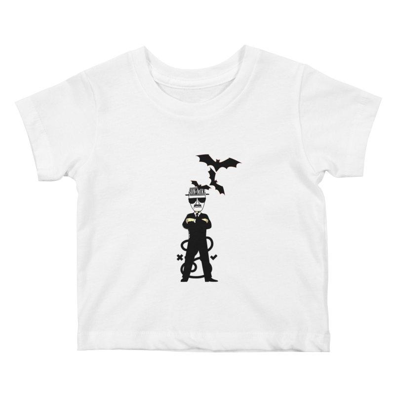 "SON OF MIKE ""Tread Lightly"" Kids Baby T-Shirt by Turkeylegsray's Artist Shop"
