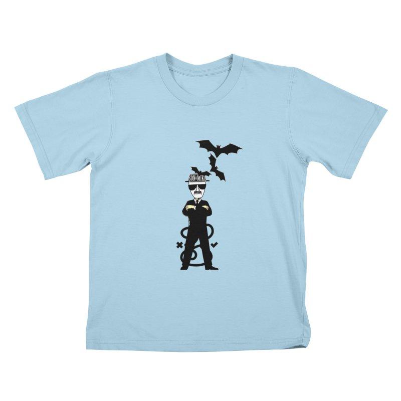 "SON OF MIKE ""Tread Lightly"" Kids T-shirt by Turkeylegsray's Artist Shop"