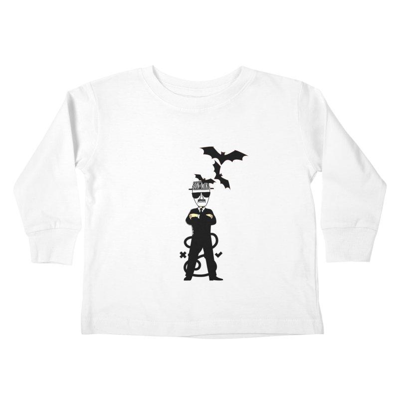 "SON OF MIKE ""Tread Lightly"" Kids Toddler Longsleeve T-Shirt by Turkeylegsray's Artist Shop"