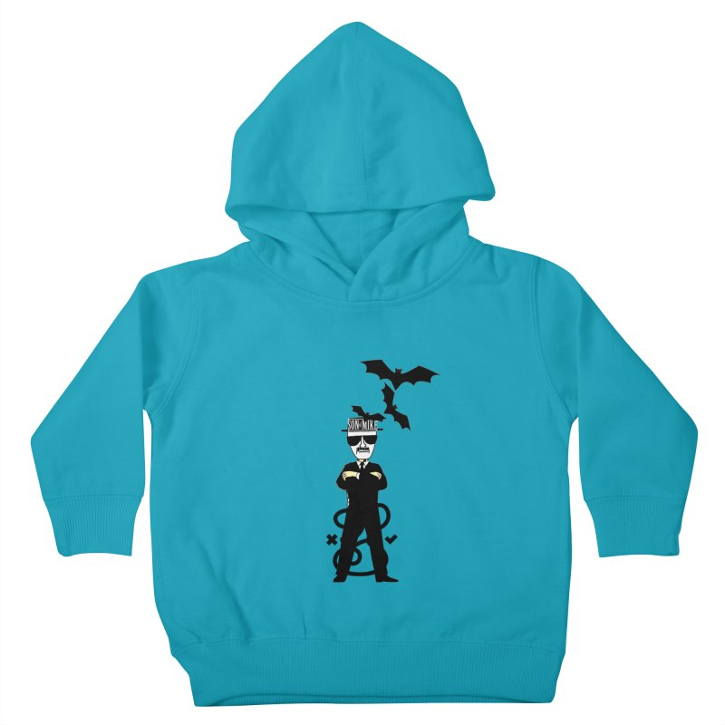 """SON OF MIKE """"Tread Lightly"""" Kids Toddler Pullover Hoody by Turkeylegsray's Artist Shop"""