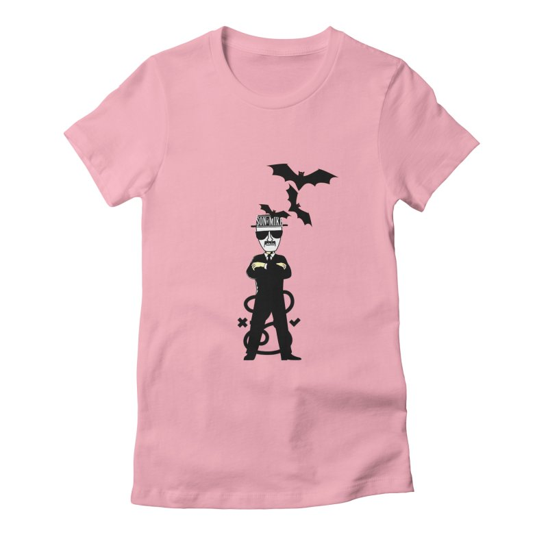 """SON OF MIKE """"Tread Lightly"""" Women's Fitted T-Shirt by Turkeylegsray's Artist Shop"""
