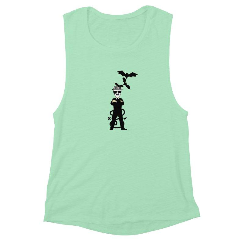 """SON OF MIKE """"Tread Lightly"""" Women's Muscle Tank by Turkeylegsray's Artist Shop"""