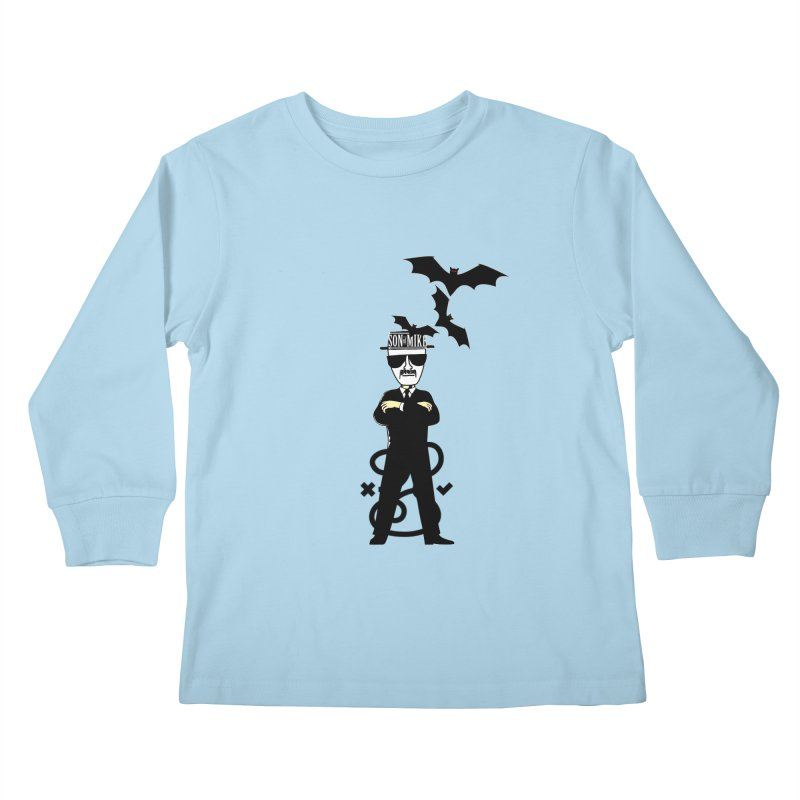 "SON OF MIKE ""Tread Lightly"" Kids Longsleeve T-Shirt by Turkeylegsray's Artist Shop"