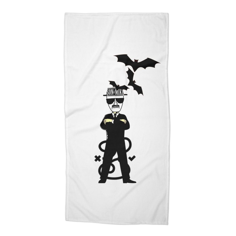 "SON OF MIKE ""Tread Lightly"" Accessories Beach Towel by Turkeylegsray's Artist Shop"
