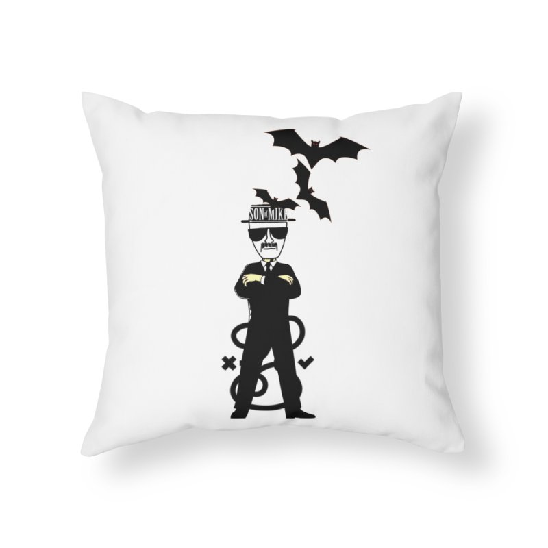 """SON OF MIKE """"Tread Lightly"""" Home Throw Pillow by Turkeylegsray's Artist Shop"""