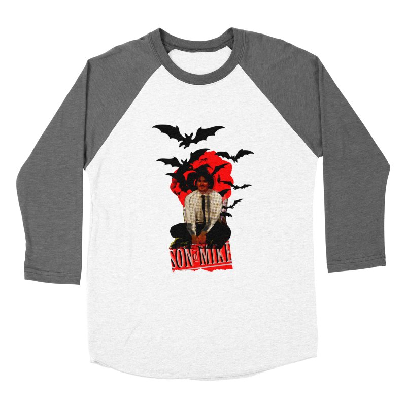 "SON OF MIKE ""Batman"" Women's Baseball Triblend T-Shirt by Turkeylegsray's Artist Shop"
