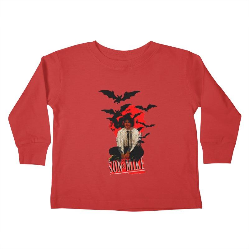 "SON OF MIKE ""Batman"" Kids Toddler Longsleeve T-Shirt by Turkeylegsray's Artist Shop"