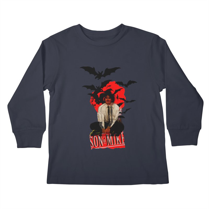 "SON OF MIKE ""Batman"" Kids Longsleeve T-Shirt by Turkeylegsray's Artist Shop"