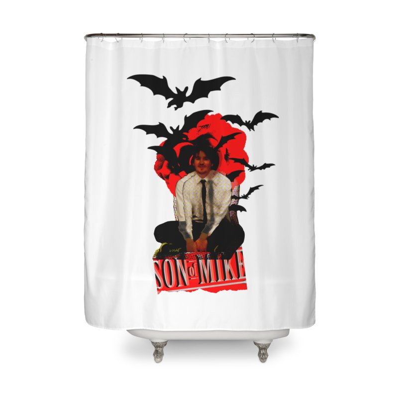 "SON OF MIKE ""Batman"" Home Shower Curtain by Turkeylegsray's Artist Shop"