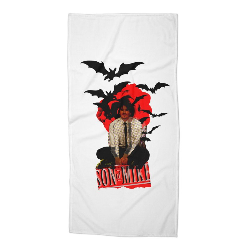 "SON OF MIKE ""Batman"" Accessories Beach Towel by Turkeylegsray's Artist Shop"