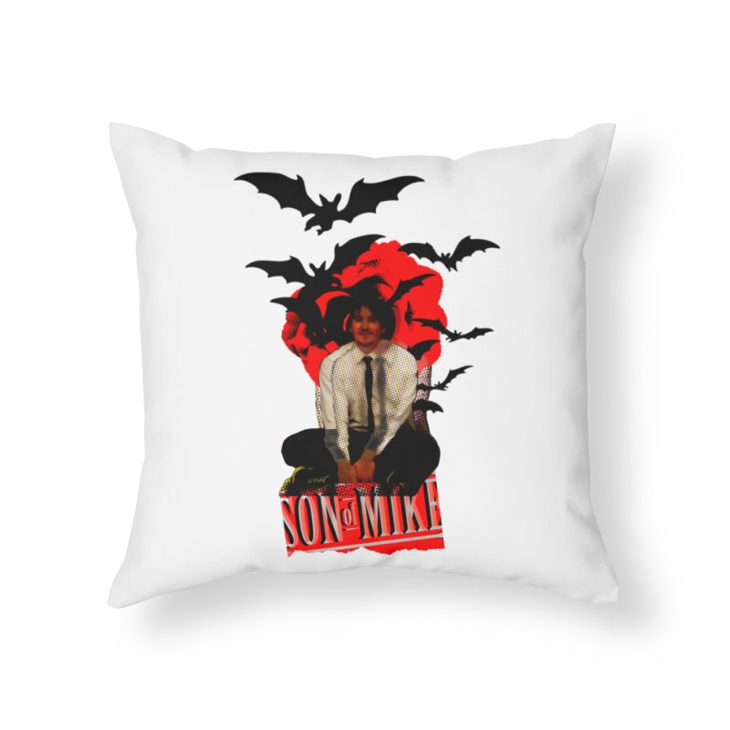 "SON OF MIKE ""Batman"" Home Throw Pillow by Turkeylegsray's Artist Shop"
