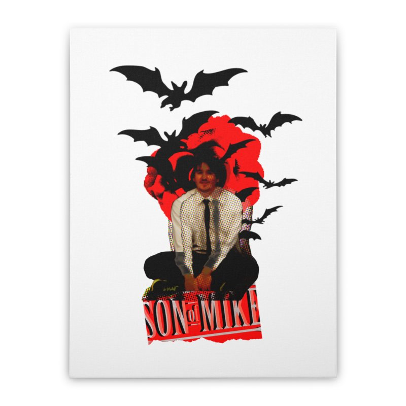 "SON OF MIKE ""Batman"" Home Stretched Canvas by Turkeylegsray's Artist Shop"