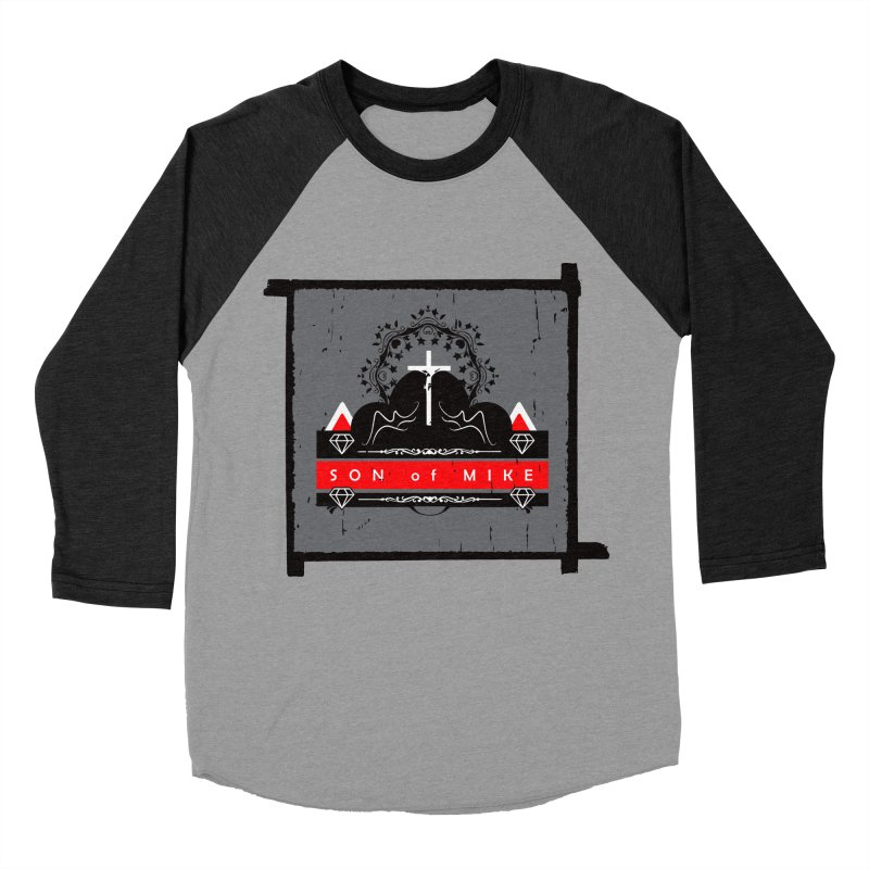 "SON OF MIKE ""High"" Women's Baseball Triblend T-Shirt by Turkeylegsray's Artist Shop"
