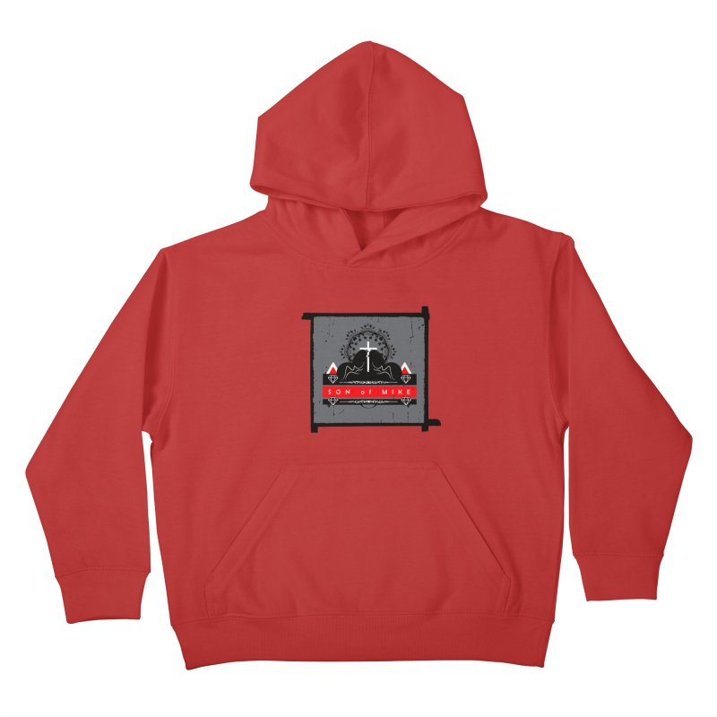 "SON OF MIKE ""High"" Kids Pullover Hoody by Turkeylegsray's Artist Shop"