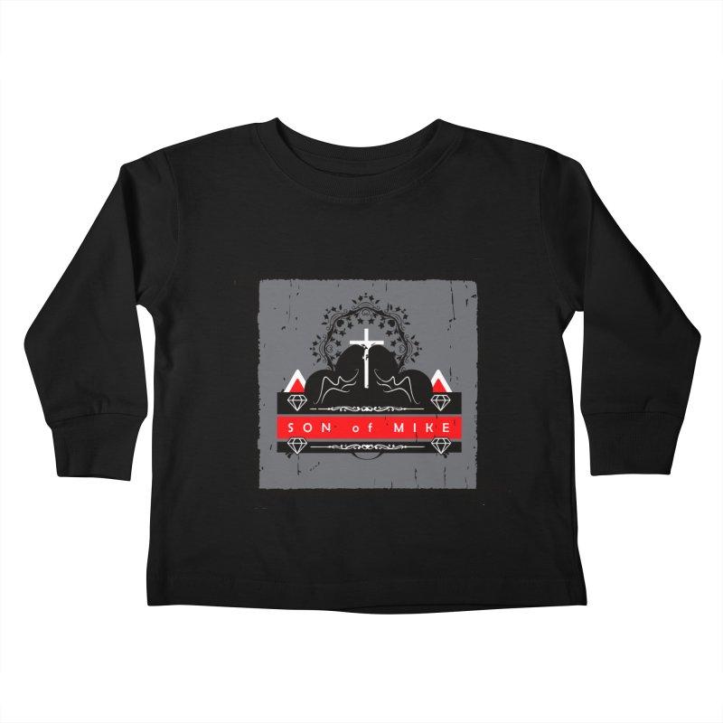 "SON OF MIKE ""High"" Kids Toddler Longsleeve T-Shirt by Turkeylegsray's Artist Shop"