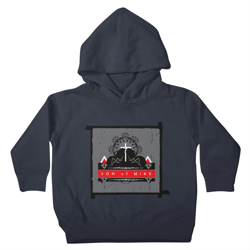 """SON OF MIKE """"High"""" Kids Toddler Pullover Hoody by Turkeylegsray's Artist Shop"""