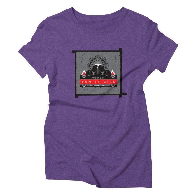 "SON OF MIKE ""High"" Women's Triblend T-shirt by Turkeylegsray's Artist Shop"