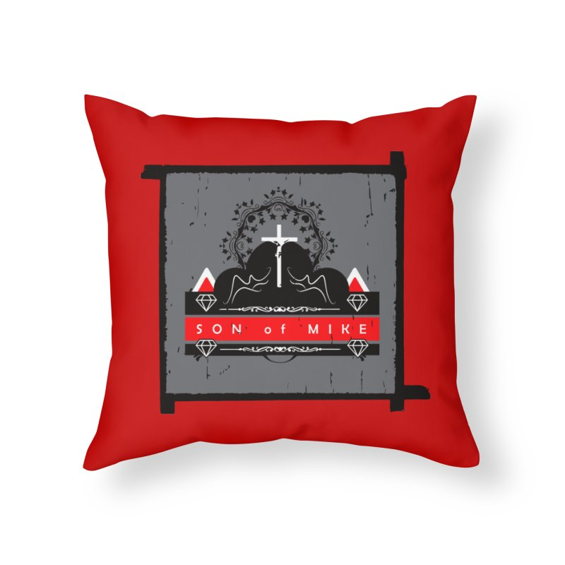 """SON OF MIKE """"High"""" Home Throw Pillow by Turkeylegsray's Artist Shop"""