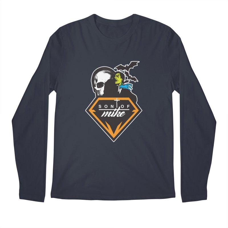"SON OF MIKE ""Diamond Skull"" Men's Longsleeve T-Shirt by Turkeylegsray's Artist Shop"