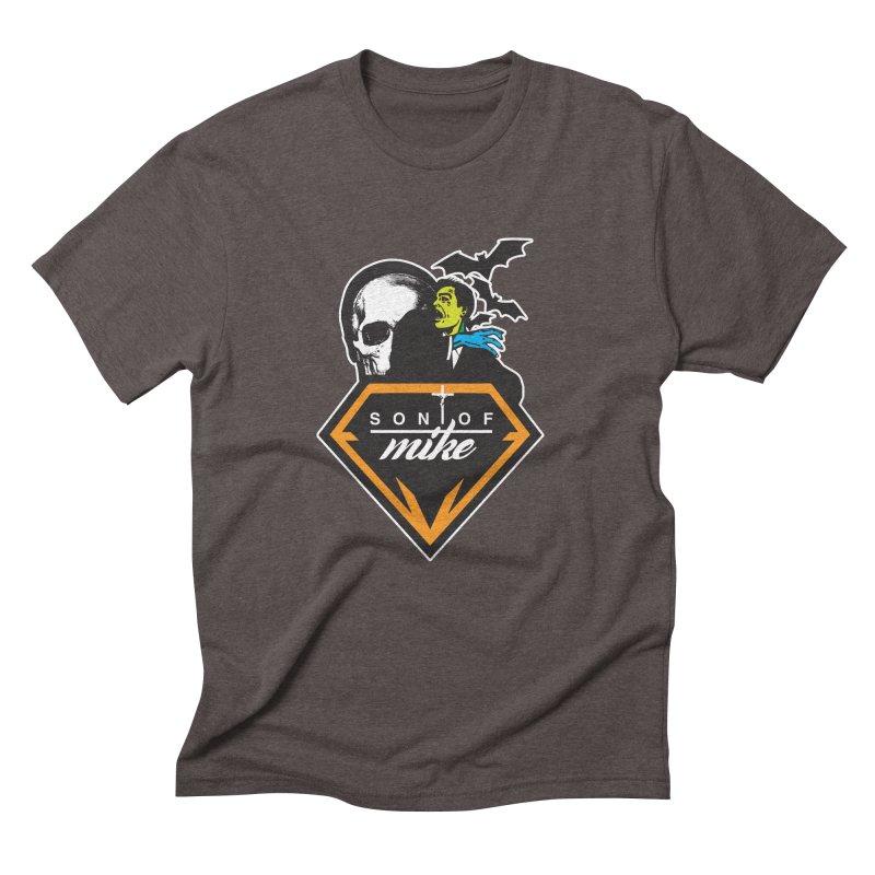 "SON OF MIKE ""Diamond Skull"" Men's Triblend T-shirt by Turkeylegsray's Artist Shop"