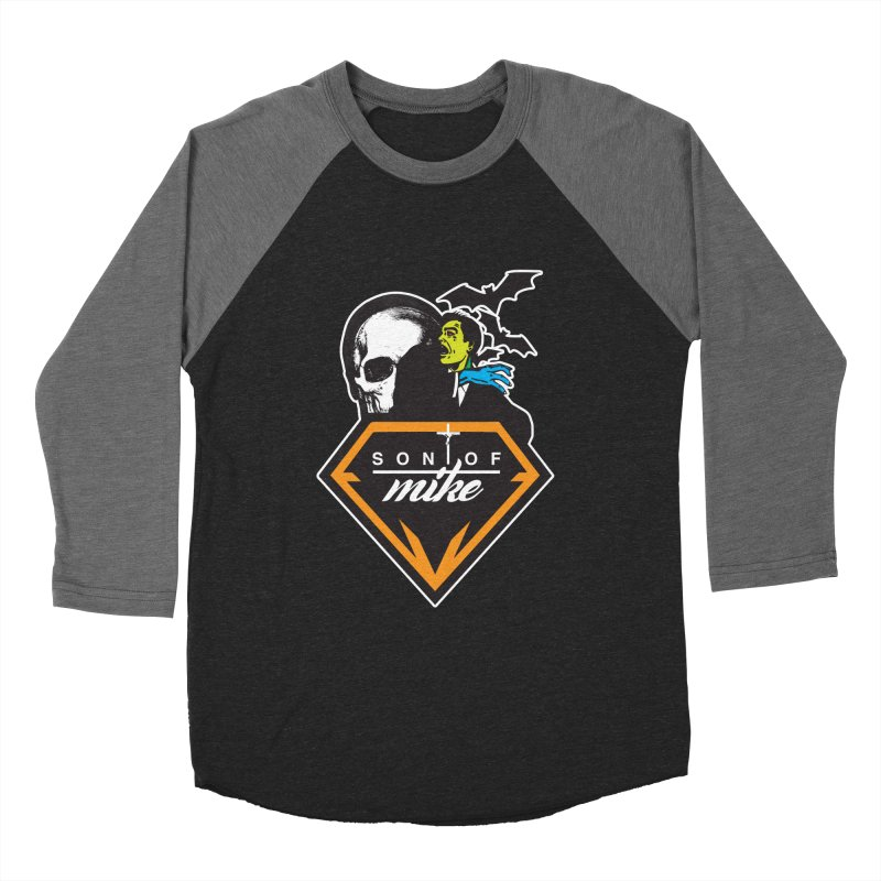 "SON OF MIKE ""Diamond Skull"" Women's Baseball Triblend T-Shirt by Turkeylegsray's Artist Shop"