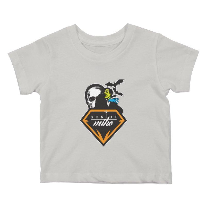"SON OF MIKE ""Diamond Skull"" Kids Baby T-Shirt by Turkeylegsray's Artist Shop"