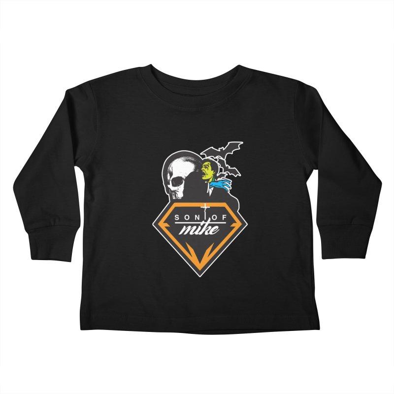 "SON OF MIKE ""Diamond Skull"" Kids Toddler Longsleeve T-Shirt by Turkeylegsray's Artist Shop"
