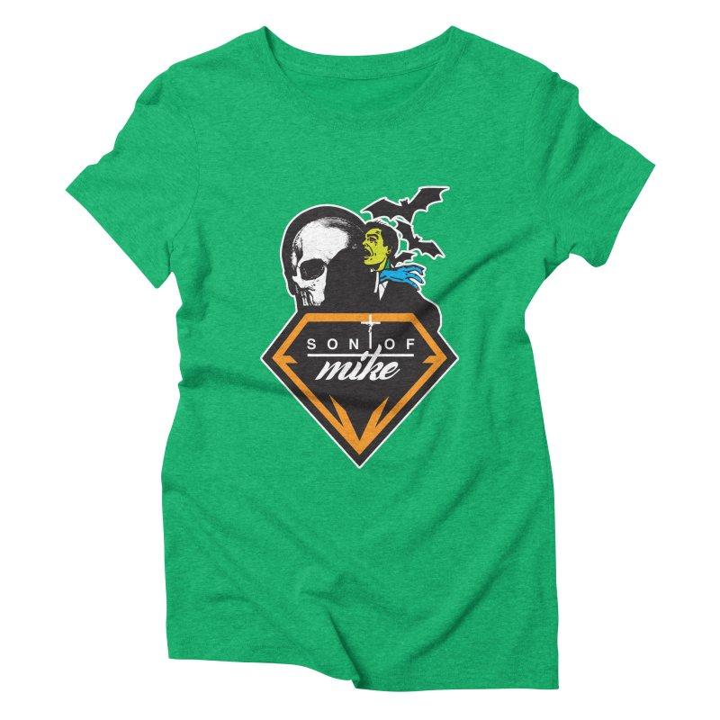 "SON OF MIKE ""Diamond Skull"" Women's Triblend T-shirt by Turkeylegsray's Artist Shop"