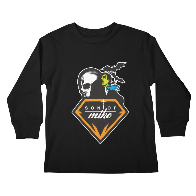 "SON OF MIKE ""Diamond Skull"" Kids Longsleeve T-Shirt by Turkeylegsray's Artist Shop"