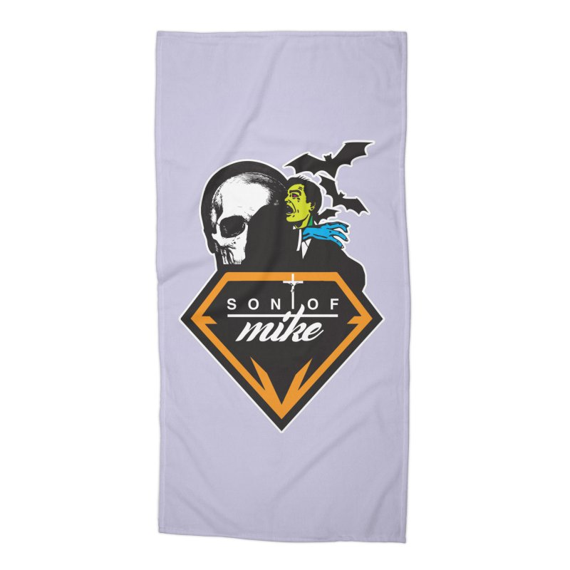 "SON OF MIKE ""Diamond Skull"" Accessories Beach Towel by Turkeylegsray's Artist Shop"