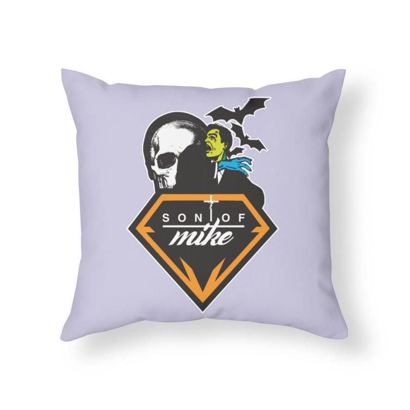 "SON OF MIKE ""Diamond Skull"" Home Throw Pillow by Turkeylegsray's Artist Shop"