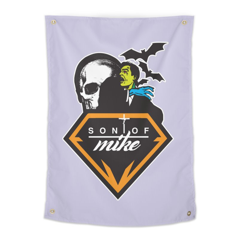 "SON OF MIKE ""Diamond Skull"" Home Tapestry by Turkeylegsray's Artist Shop"