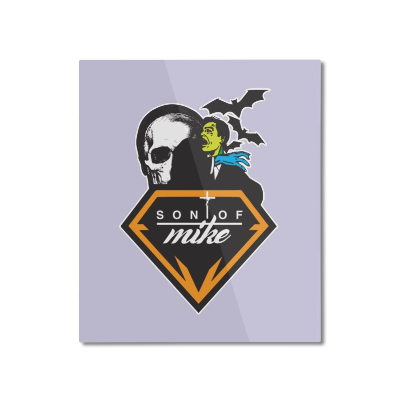 "SON OF MIKE ""Diamond Skull"" Home Mounted Aluminum Print by Turkeylegsray's Artist Shop"