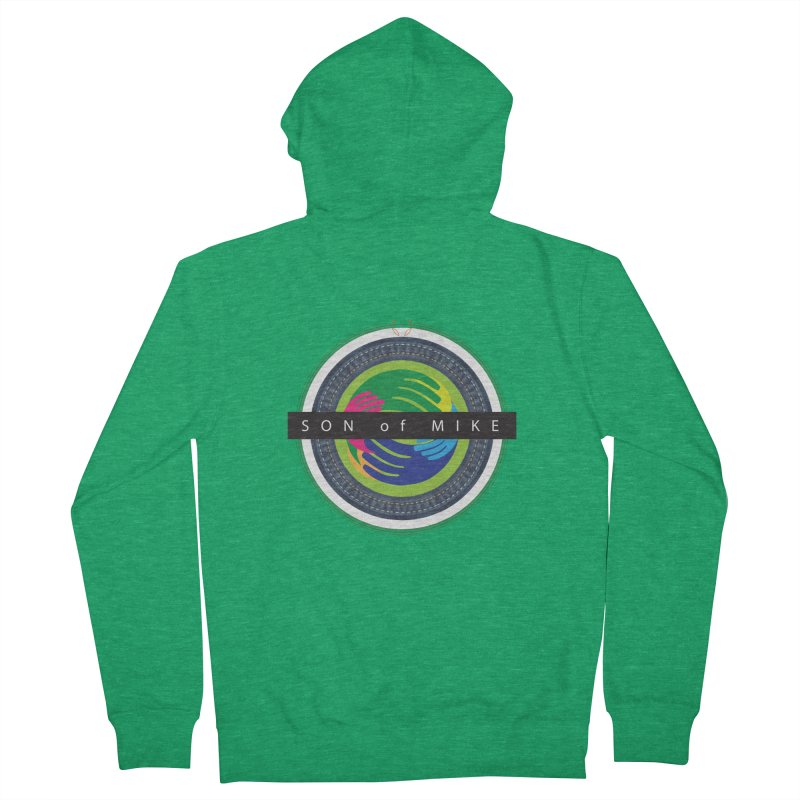 """SON OF MIKE """"Holy Circle"""" Men's Zip-Up Hoody by Turkeylegsray's Artist Shop"""