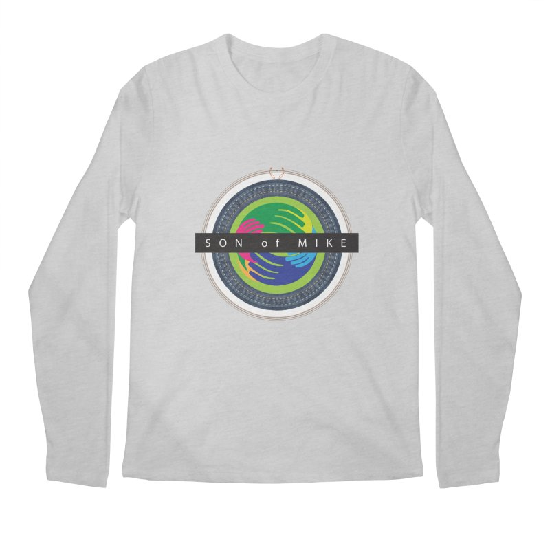 "SON OF MIKE ""Holy Circle"" Men's Longsleeve T-Shirt by Turkeylegsray's Artist Shop"