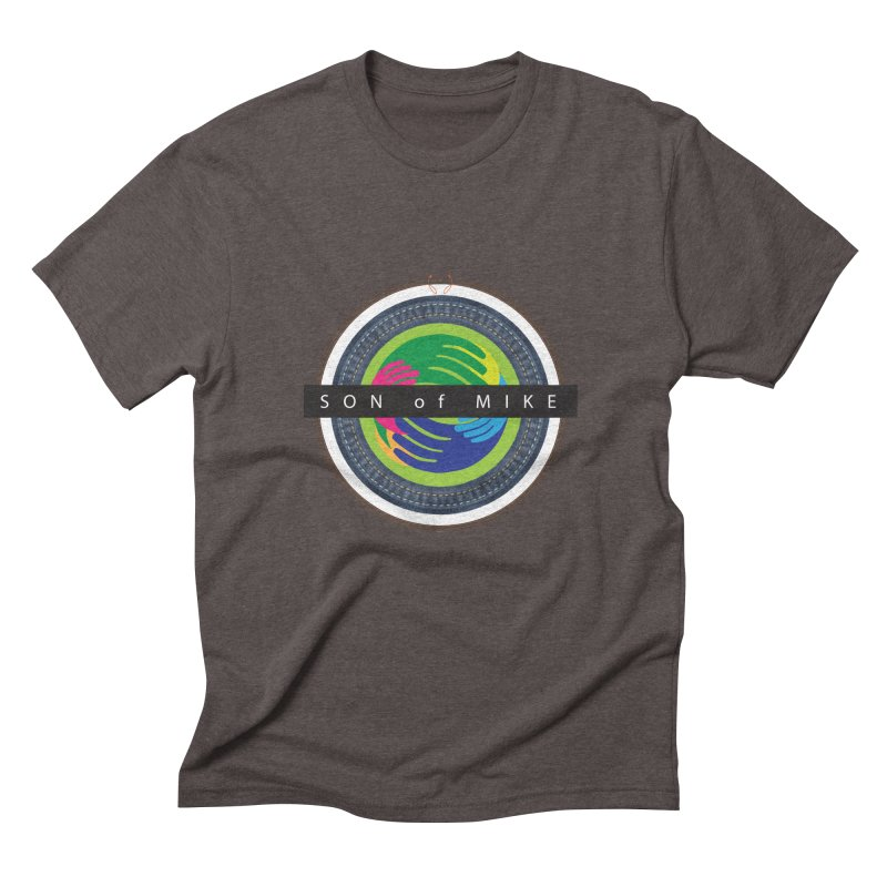 """SON OF MIKE """"Holy Circle"""" Men's Triblend T-shirt by Turkeylegsray's Artist Shop"""