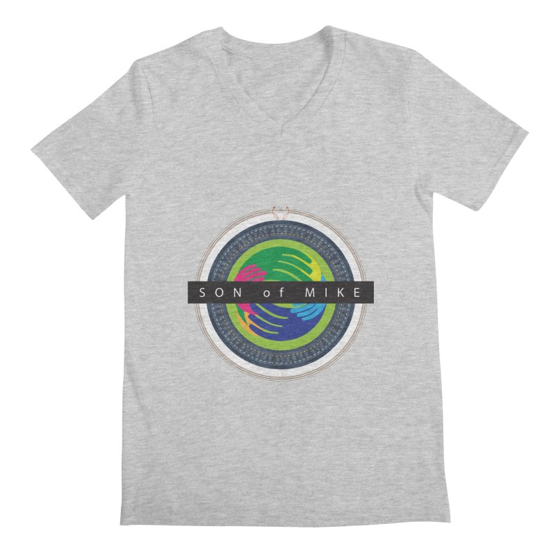 "SON OF MIKE ""Holy Circle"" Men's V-Neck by Turkeylegsray's Artist Shop"