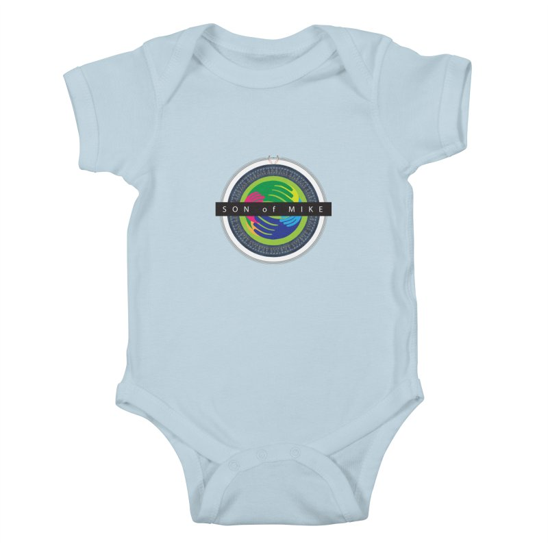 "SON OF MIKE ""Holy Circle"" Kids Baby Bodysuit by Turkeylegsray's Artist Shop"